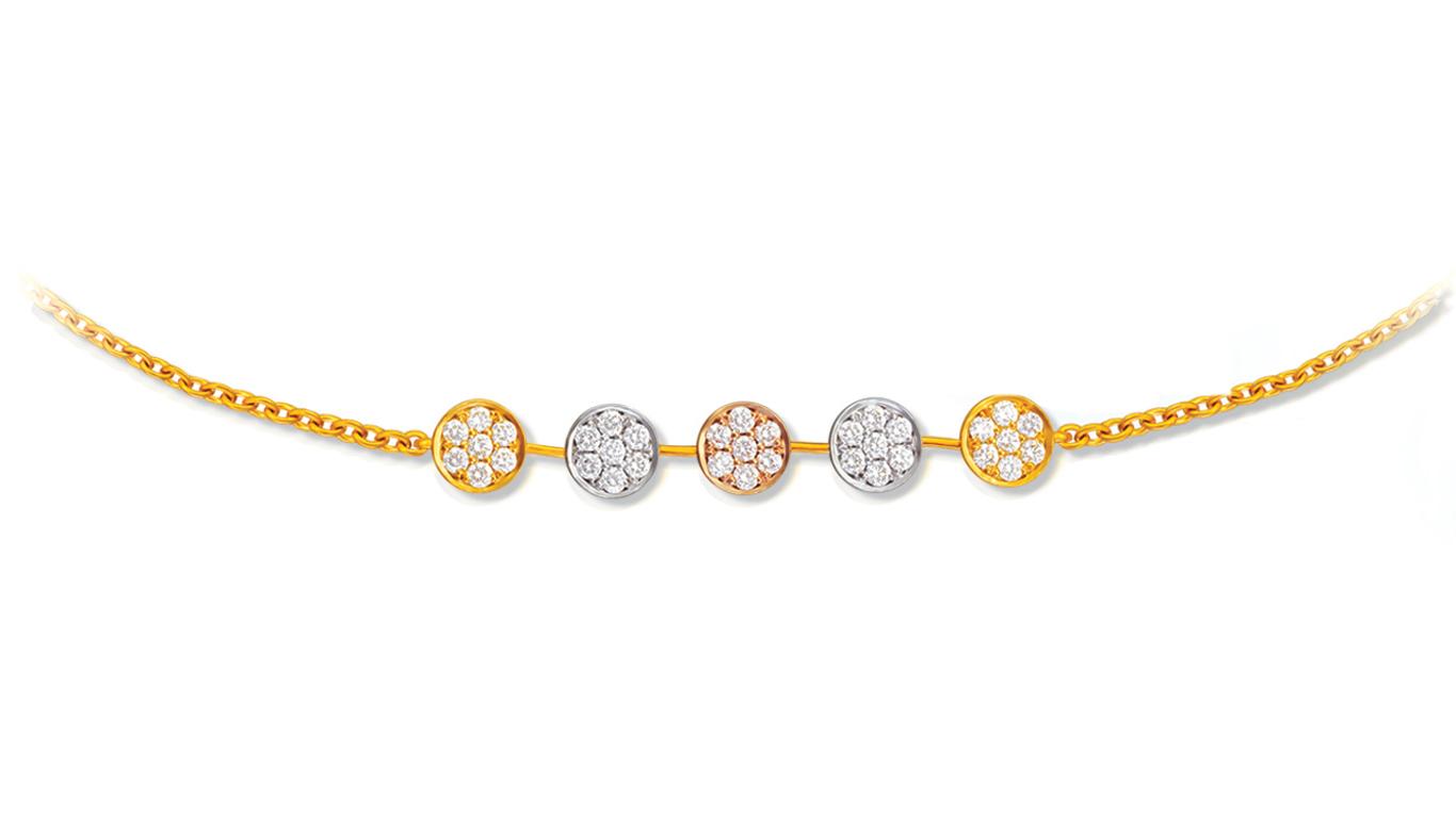 Five Component Bracelet