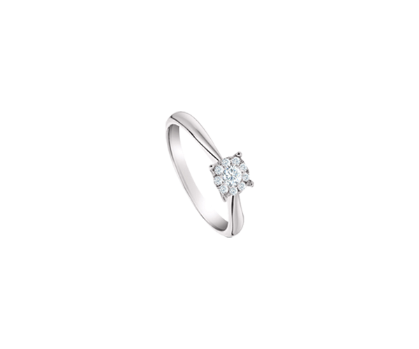 Look Alike Solitaire Ring