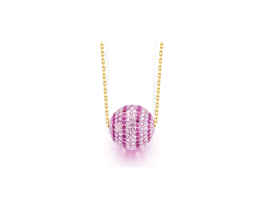CZ Ball Necklace