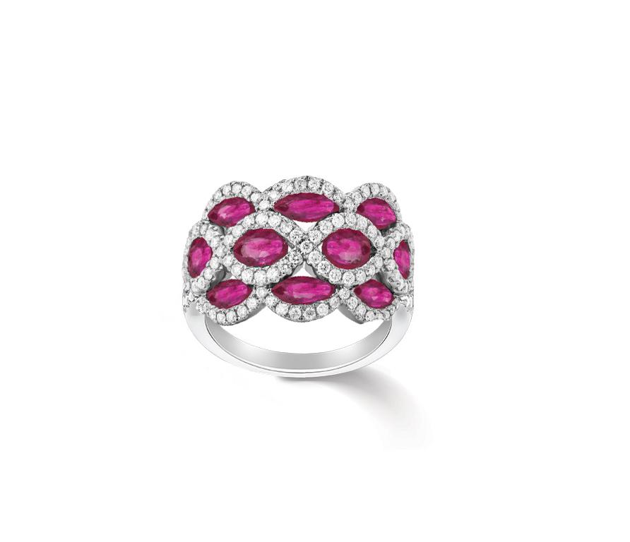 Fancy Ruby Ring