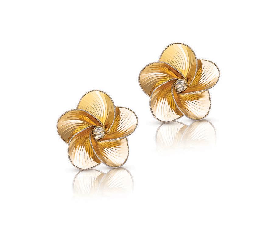 Floral Laser Cut Earring