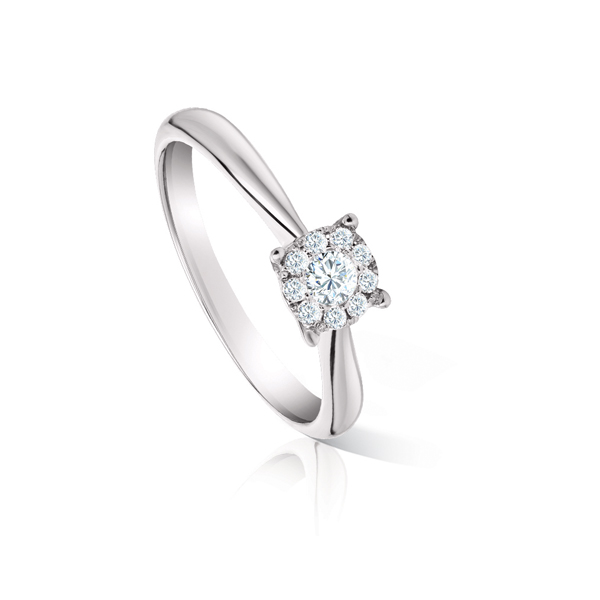 Timeless Look Alike Solitaire Ring