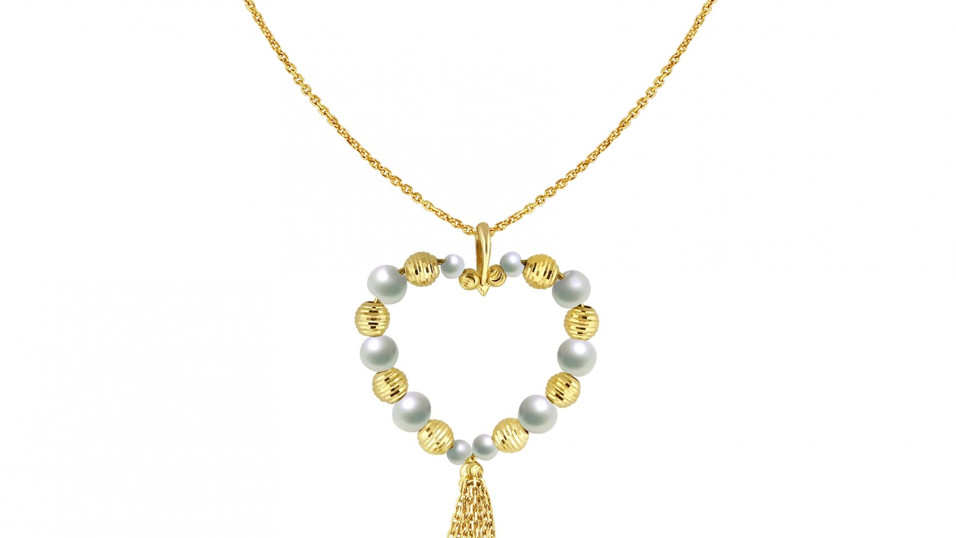 Heart Shape Long Necklace