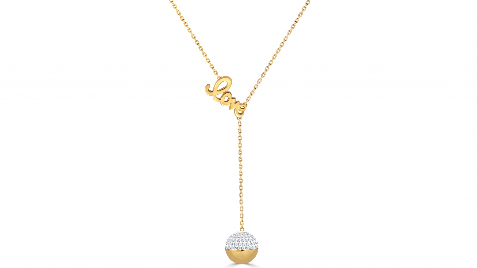 Stylish LOVE Necklace