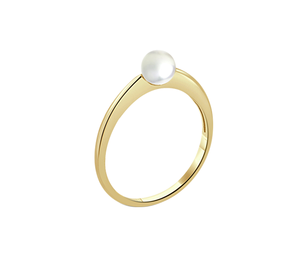 Pearl Ring with 18K YG