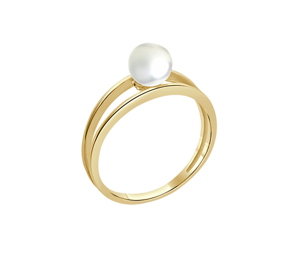 Pearl with 18K YG