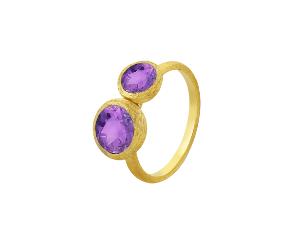 Semi Precious Colour Stone Ring