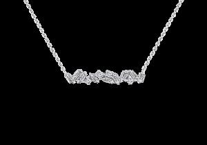 Baguette Diamond Pendant Chain