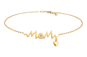 HEART BEAT MOM BRACELET
