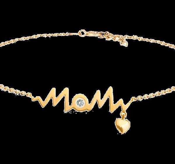 HEART BEAT MOM BRACELET