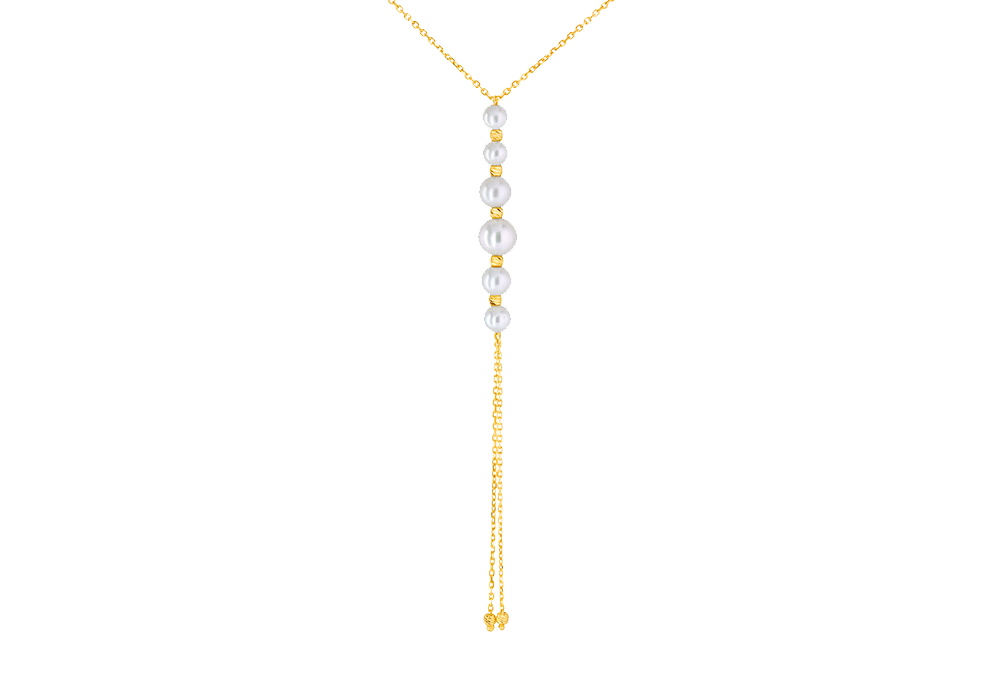 Dangling Fresh water Pearl Necklace