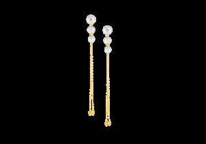 Dangling Fresh water Pearl earring