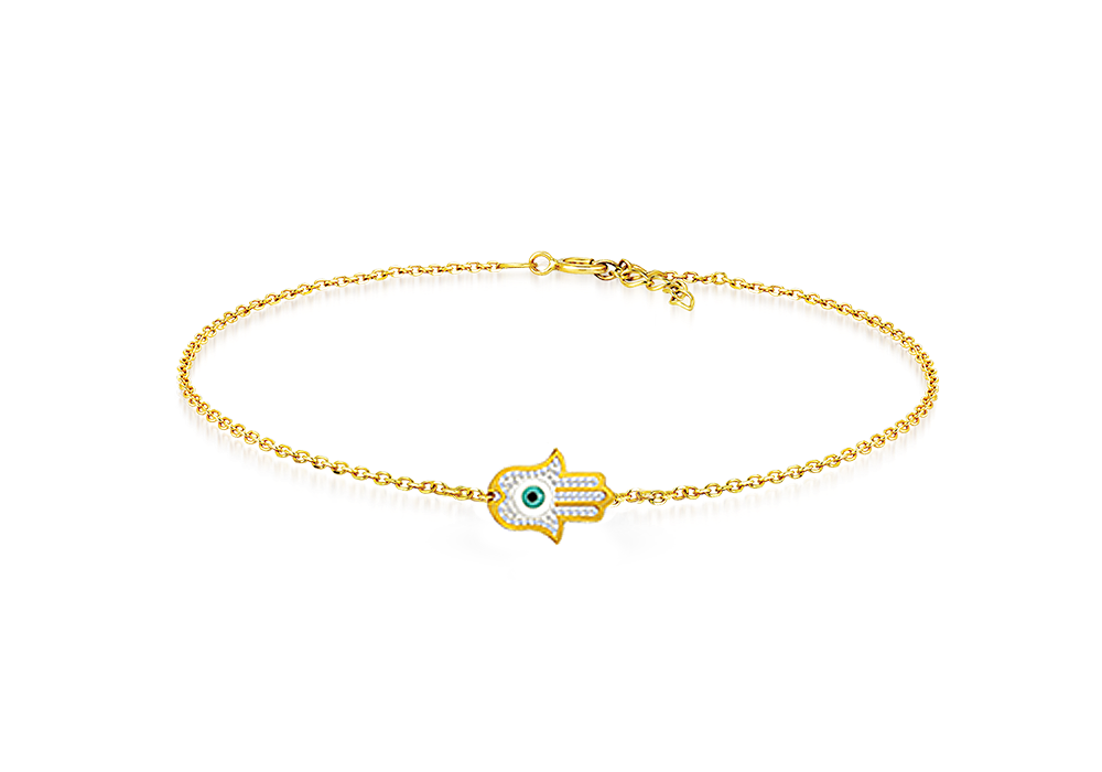 Fatima Hand Evil Eye Bracelet