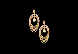 Fancy Earring in 18K Gold