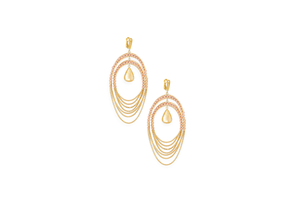 Fancy Earring in 18K Gold