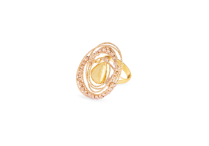 Fancy Ring in 18K Gold
