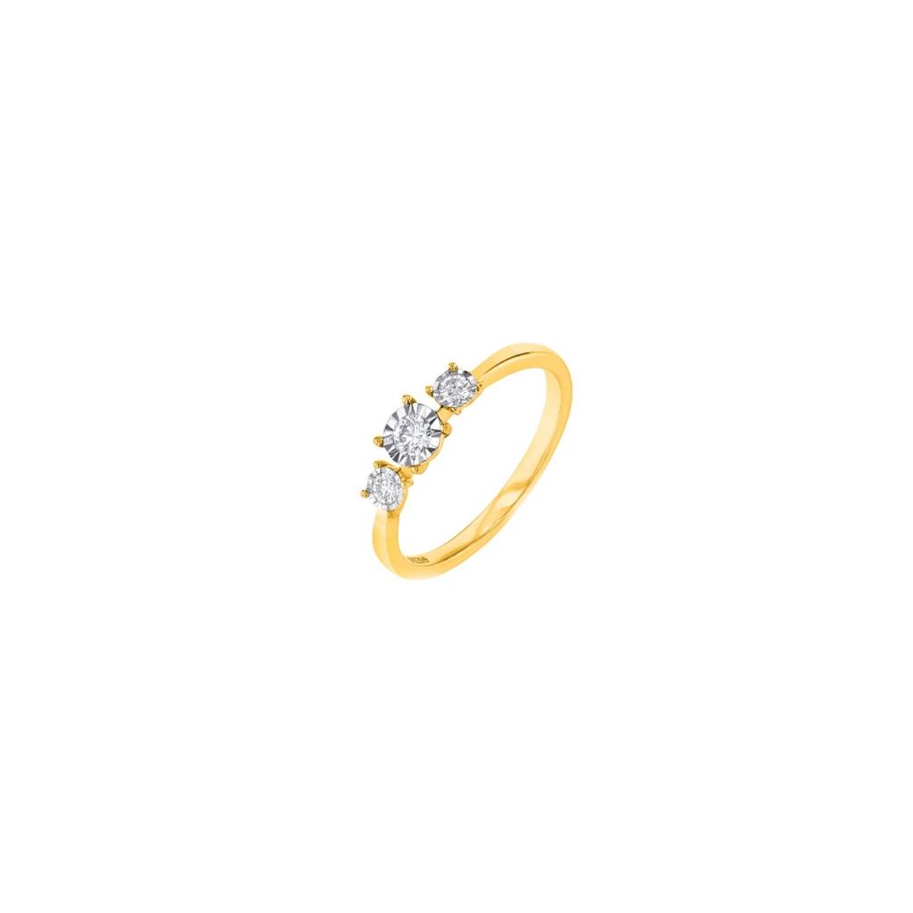 Triolagy Ring  YG