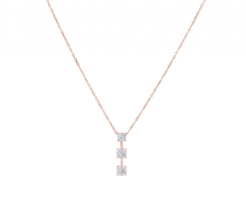 Triology Pendant Chain RG