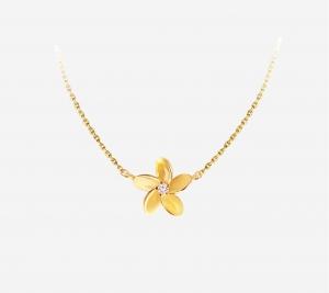 Plumeria Flower Necklace