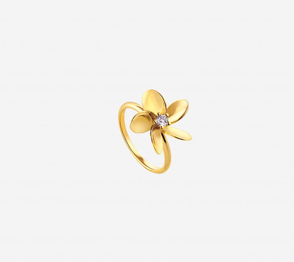 Plumeria Flower Ring