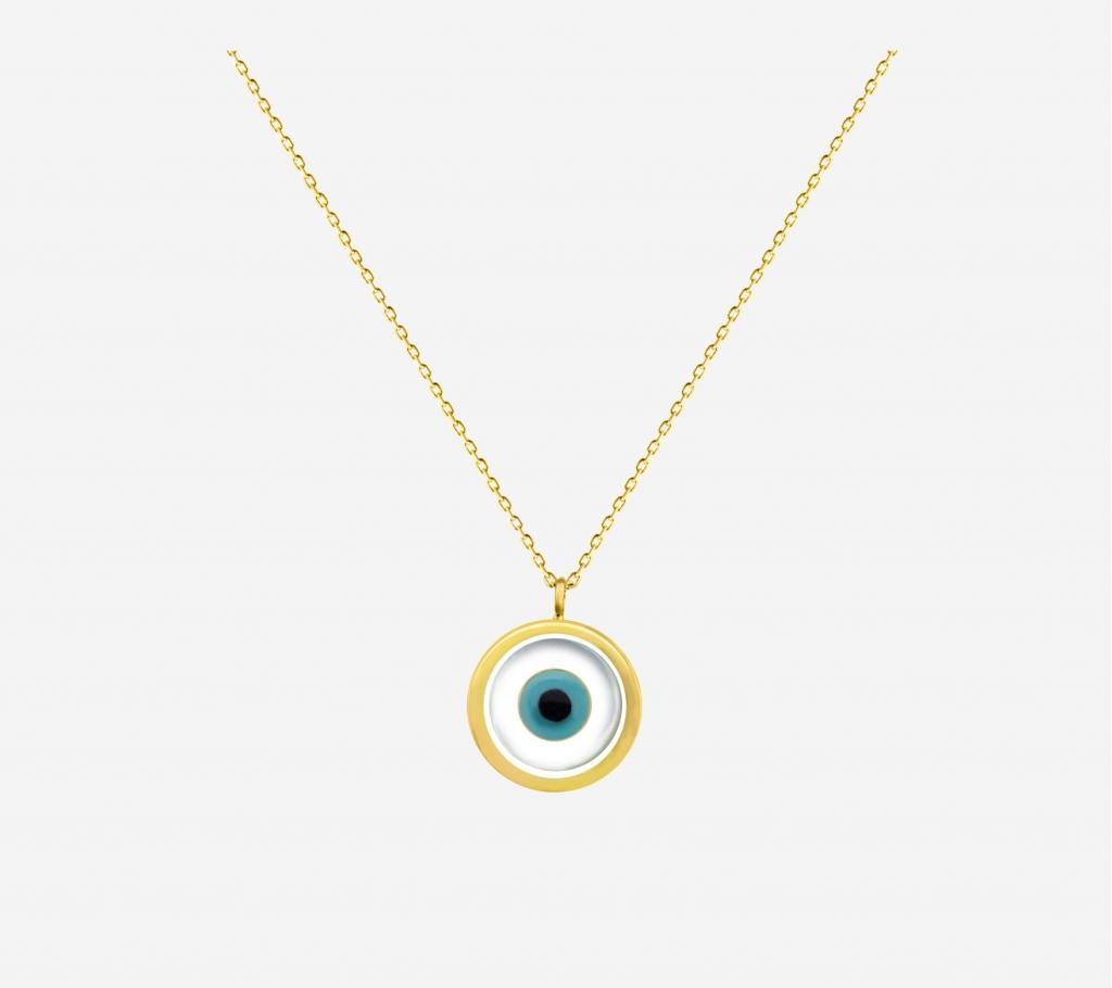 Single Evil Eye Necklace
