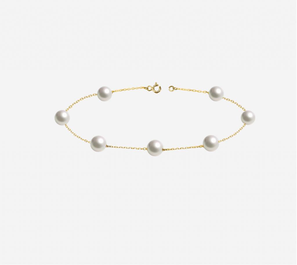 Single Line fresh Water Pearl Bracelet
